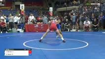145 Qtrs - Zachary Barnes, Iowa vs Sam Sasso, Pennsylvania