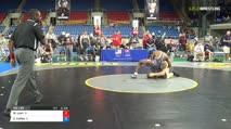 182 Qtrs - Max Lyon, Iowa vs Cameron Caffey, Illinois