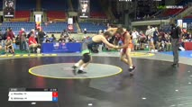 195 Qtrs - Jakob Woodley, Pennsylvania vs Brandon Whitman, Michigan