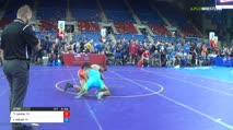 100 Qtrs - Timothy Levine, California vs Jacob Moran, Indiana