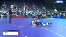 160 Qtrs - David Carr, Ohio vs Jaryn Curry, Oklahoma