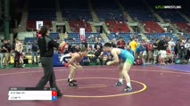 160 Qtrs - Kenny O`Neil, Minnesota vs Joe Lee, Indiana