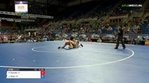 126 Qtrs - Paul Konrath, Indiana vs Jake Gliva, Minnesota
