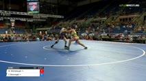 170 Qtrs - Max Wohlabaugh, Florida vs Zachary Braunagel, Illinois