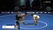 132 Finals - Atilano Escobar, Arizona vs ALEXANDER CRUZ, Washington
