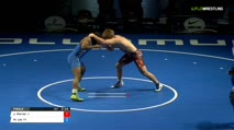 195 Finals - Jacob Warner, Illinois vs Miles Lee, Pennsylvania