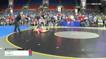 113 Quarter-Finals - Sterling Quinn, Montana vs Hunter Lewis, Wisconsin