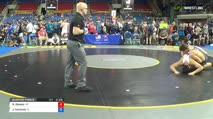 220 Quarter-Finals - Nathaniel Deasey, Arizona vs Jacob Kaminski, Illinois
