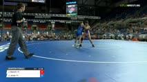 126 Quarter-Finals - Joey Bianchi, Wisconsin vs Joshua Jones, Pennsylvania