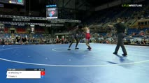 132 Quarter-Finals - Dawson Sihavong, California vs Torry Early, Illinois