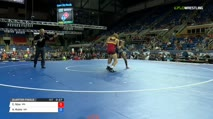 138 Quarter-Finals - Colby Njos, Minnesota vs Alex Rubio, Washington