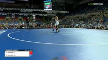 152 Quarter-Finals - Aaron Gandara, Arizona vs Brett Mcintosh, Ohio