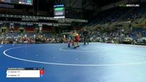 160 Quarter-Finals - Dalton Andrist, Minnesota vs Austin Watson, Oregon