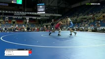 195 Quarter-Finals - Santos Cantu, Oregon vs Aidan Conner, Texas