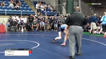 117 Quarter-Finals - Tiana Jackson, California vs Cameron Guerin, Washington