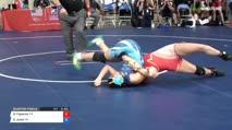 122 Quarter-Finals - Gracie Figueroa, California vs Emma Justo, Nevada