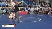 225 Quarter-Finals - Jasmin Clarke, California vs Mariah Chanady, Illinois