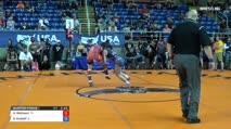 144 Quarter-Finals - Hunter Robinson, Texas vs Grace Kristoff, Illinois