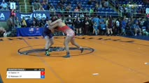 164 Quarter-Finals - Anna Castro, California vs Olivia Robinson, Oregon