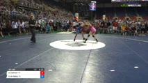 127 Quarter-Finals - Ashton Cadman, Wisconsin vs Xochitl Mota-Pettis, Texas