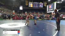 152 Quarter-Finals - Brooke Holt, Illinois vs Kiana Pugh, Wisconsin