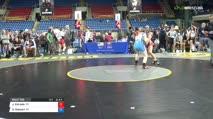 138 Semi-Finals - Jerzie Estrada, Colorado vs Sariah Stewart, New York