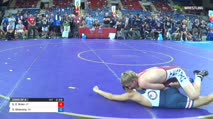 132 Consi of 4 - Stockton O`Brien, Utah vs Dawson Sihavong, California