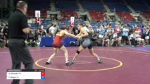 132 Semi-Finals - Carson Manville, Minnesota vs Teddy Okada, California