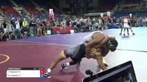 160 Semi-Finals - Carter Starocci, Pennsylvania vs Marcos Jimenez, California