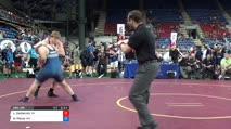 285 Semi-Finals - Logan Zschernitz, Wisconsin vs Nicholas Pierce, Minnesota
