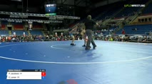 88 Semi-Finals - Payton Jacobson, Wisconsin vs Chance Lamer, Oregon