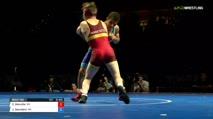 132 Finals - Carson Manville, Minnesota vs Joshua Saunders, Missouri