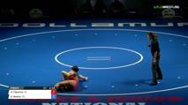 122 Finals - Gracie Figueroa, California vs Kourtney Boehm, Colorado