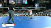 160 Semi-Finals - Tyler Dow, Wisconsin vs Kenny O`Neil, Minnesota