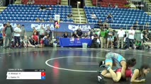 122 Consi of 16 #2 - Ashley Whetzal, VA/TX vs Leilah Castro, Ohio