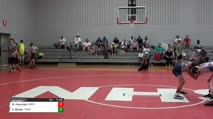 90 RR Rnd 1 - Nathaneal Jesuroga, Wrestling Factory Black vs Evan Binder, Team STL