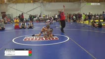 113 Round of 16 - Sam Hanley, Danielsville PA vs Tre Clifford, Allentown PA