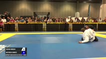Trevor Morgan vs Matthew B Moretz World Master Jiu-Jitsu IBJJF Championship