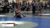 126 Round of 32 - Quin McGlamery, Valdosta High School/SGAC Devil Dogs vs Tyler Pilcher, Cass High