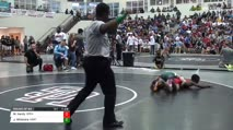 106 Round of 64 - Malik Hardy, Spencer High vs Jackson Whitmire, North Hall High School