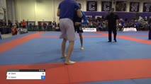Matthew Clark vs Calvin Tacey Pan IBJJF Jiu Jitsu No Gi Championship