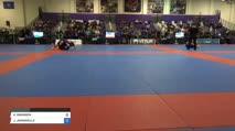 KADEEM JEFFREY vs NEAL BRANDT Pan IBJJF Jiu Jitsu No Gi Championship
